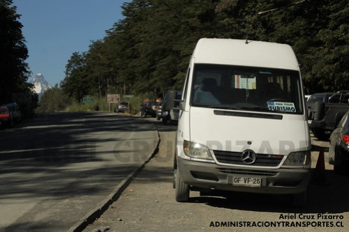 Ema Tour - Saltos de Petrohué - Mercedes Benz Sprinter (CFVF25)