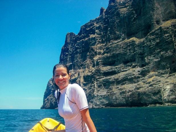 Kayak en Los Gigantes