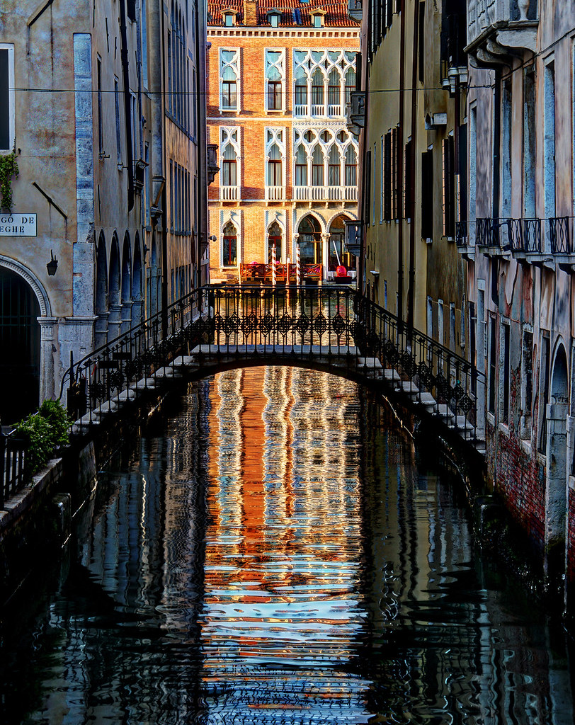 Vertical Venice  One of the best times to take photos in