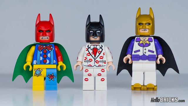 Tutorial Review LEGO 5004928 Kiss Kiss Tuxedo Batman ou comment détacher un porte-clés LEGO