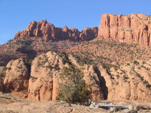 Black Mesa Area Near Kayenta Arizona  Black Mesa also