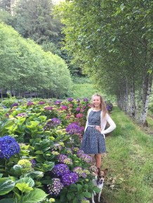 hydrangea ranch daughter Nina