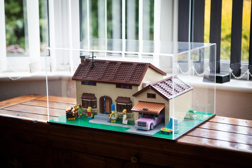 Lego Simpsons House Case  Bespoke Custom fabricated