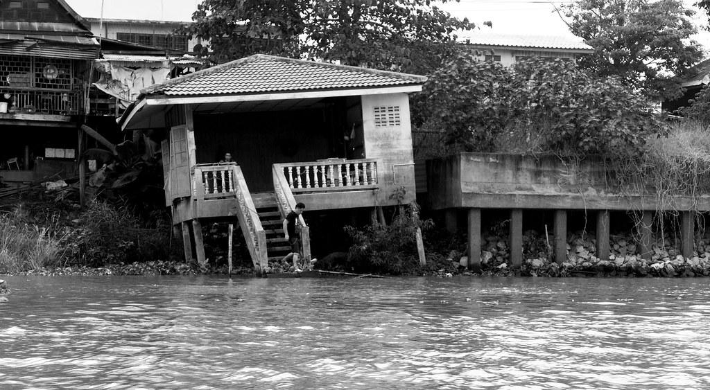 Thaïlande - Ayutthaya - 141 - Sur la Chao Phraya