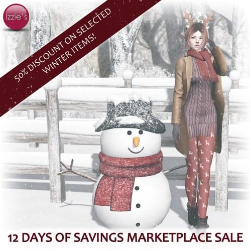 12 Days of Savings Marketplace Sale