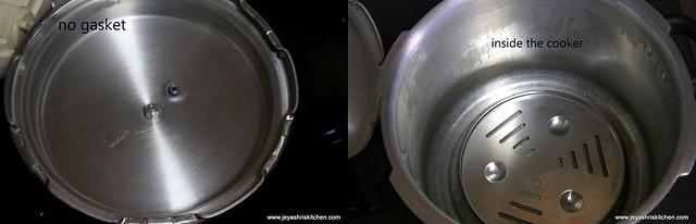 Pressure cooker cake