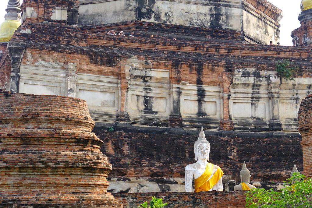 Thaïlande - Ayutthaya - 184 - Wat Yai Chai Mongkhon