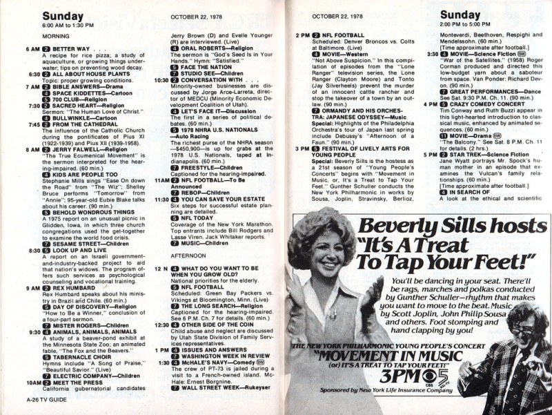 TV Guide (Oct. 21-27, 1978)