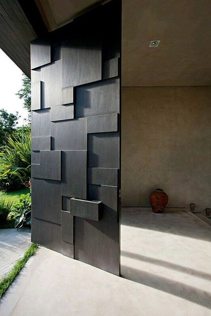 stunning modern gate design ideas 9