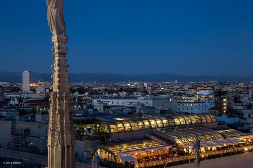 Terrazza Rinascente  dalla Terrazza del Duomo di Milano