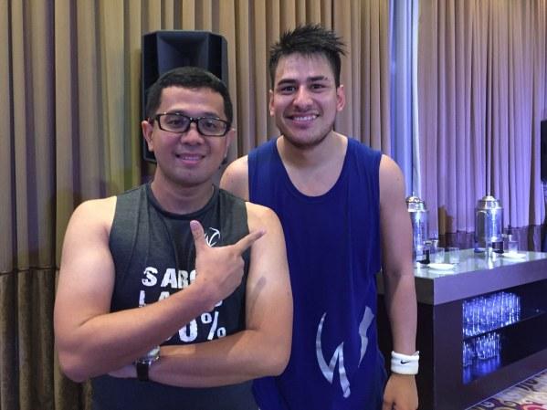 With Sabor Latino Himself William Flores