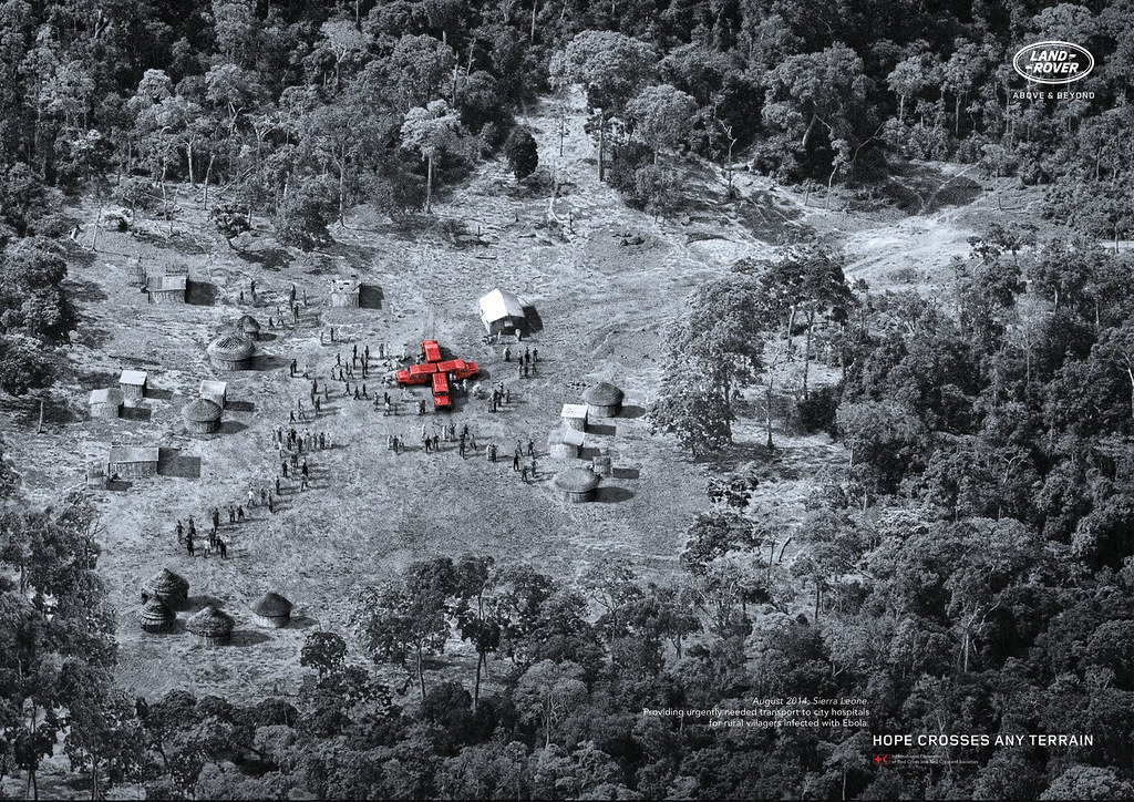Land Rover - Hope crosses any terrain 2