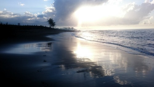 Sunrise at Pantai Keramas