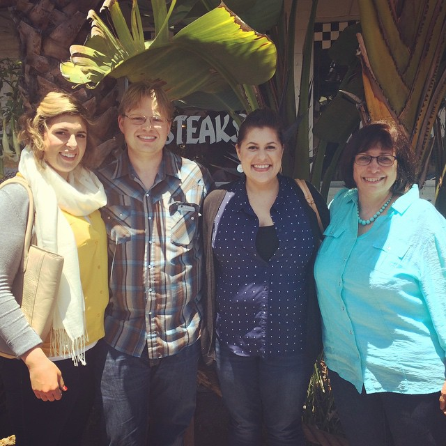Had brunch with my Aunti Gigi and Uncle Paul in Santa Cruz! Haven't seen her in 11 years! #familyreunion