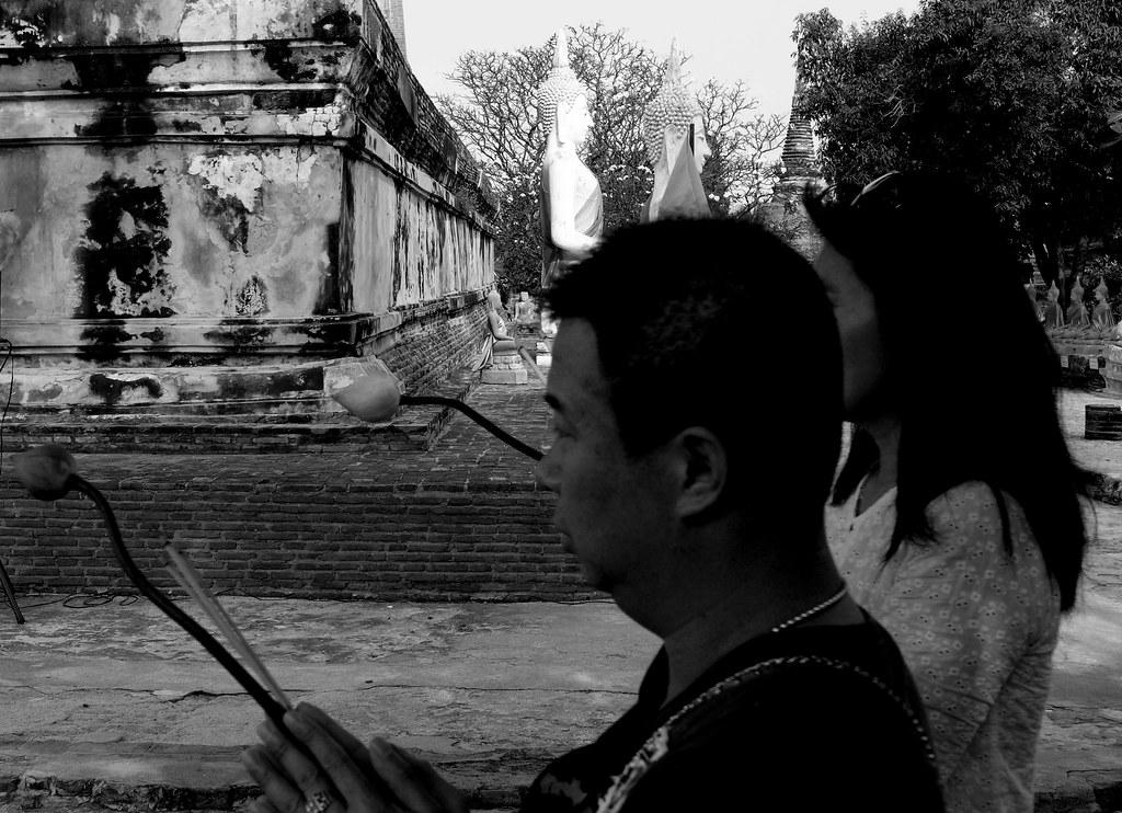 Thaïlande - Ayutthaya - 210 - Wat Yai Chai Mongkhon