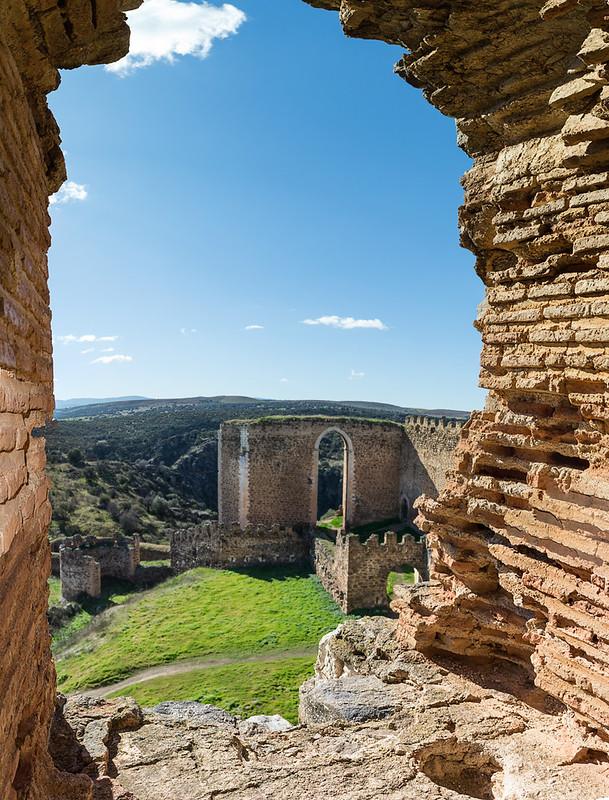 Castillo de Montalban (vista desde la Torre del homenaje)