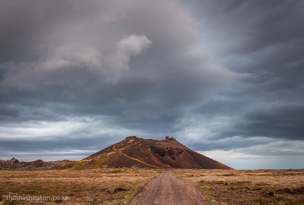 Saxholl Crater  Iceland  A stunning natural landmark in