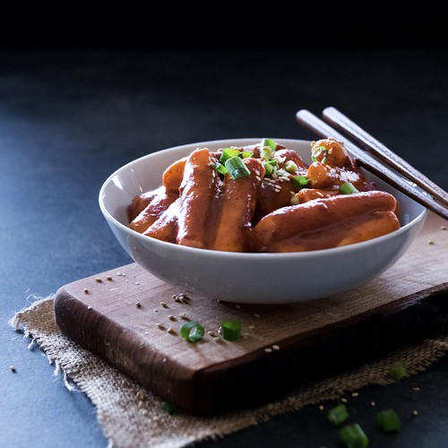 vegetarian tteokbokki