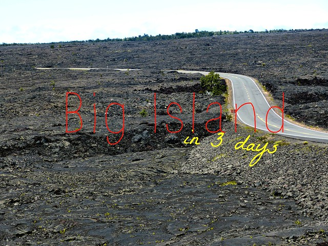picture big island in 3 days