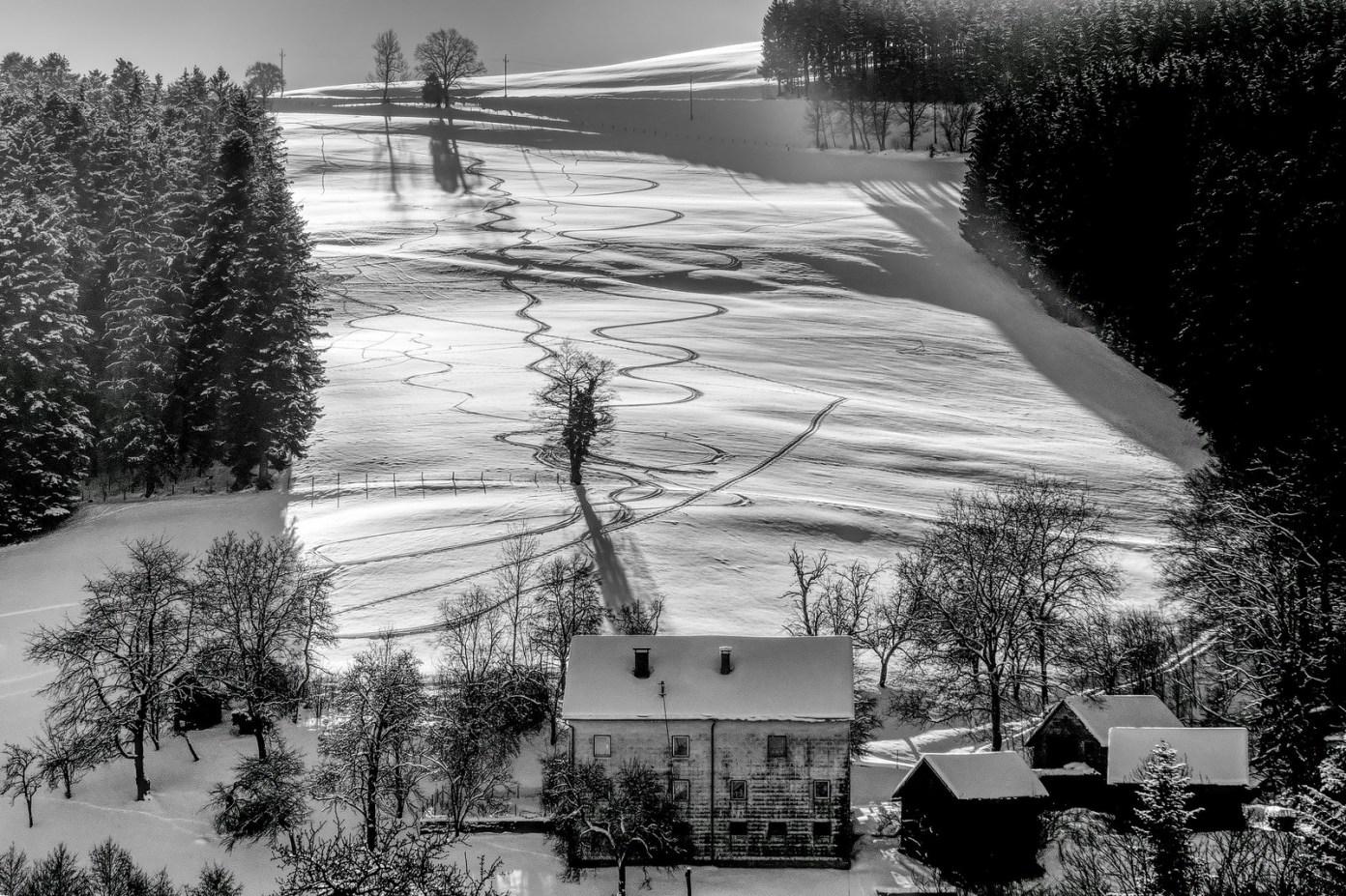 Severovýchodní svah Oberbramberg