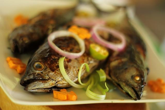 Native Lunch at Bojo River