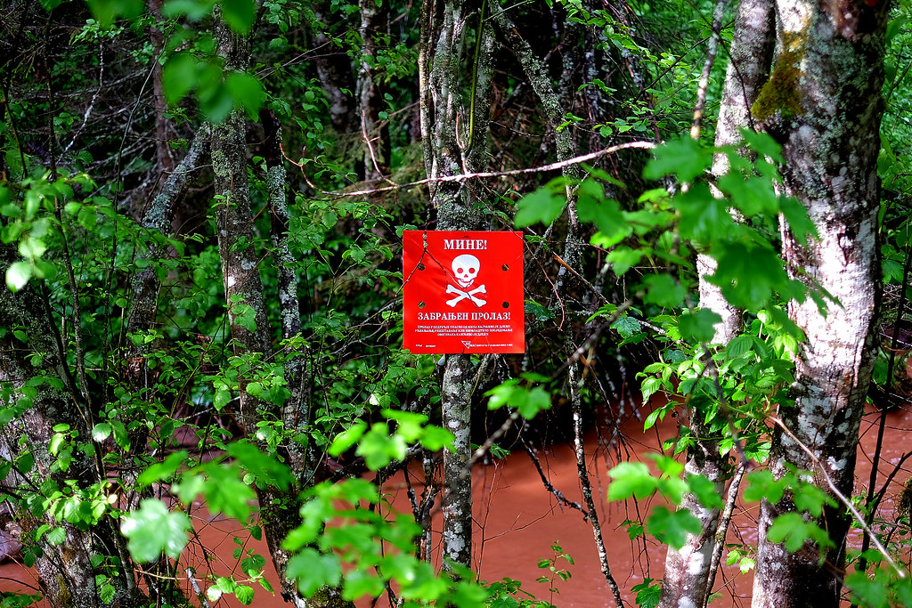 Land Mines - BEWARE
