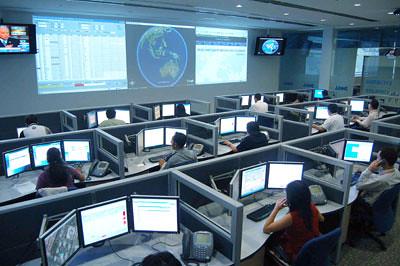 Google Earth in Dells Enterprise Command Centre  Dell