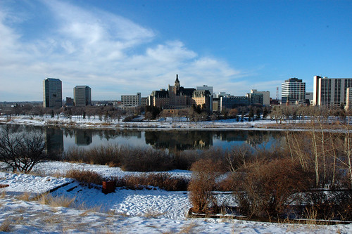 Saskatoon in the winter  taken Dec 26 2005 on a very mild w  Flickr