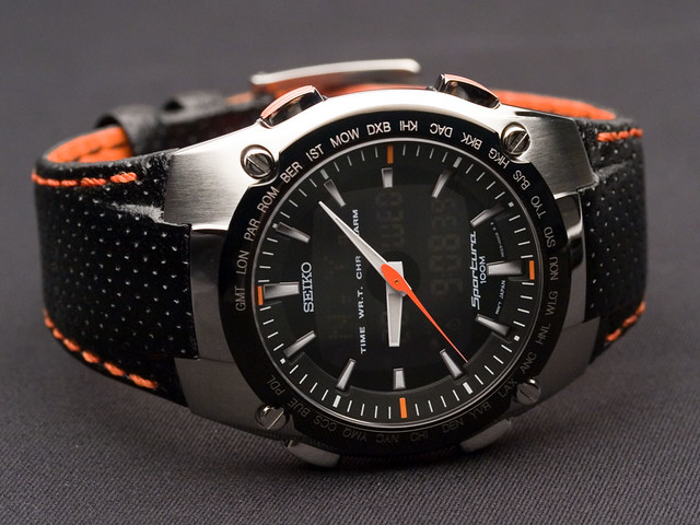 Seiko Sportura SNJ007 watch  This is the new watch that