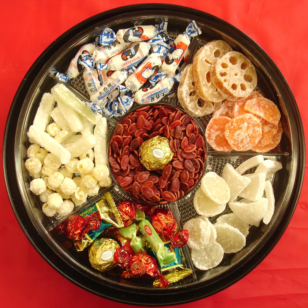 Chinese New Year candy tray | My classroom one. Not precisel… | Flickr