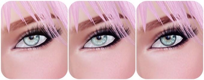 Mayfly mesh eyes