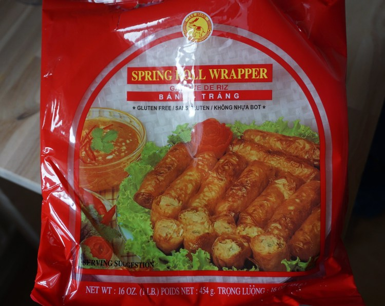 Gluten free spring roll wrappers - fresh avocado spring rolls