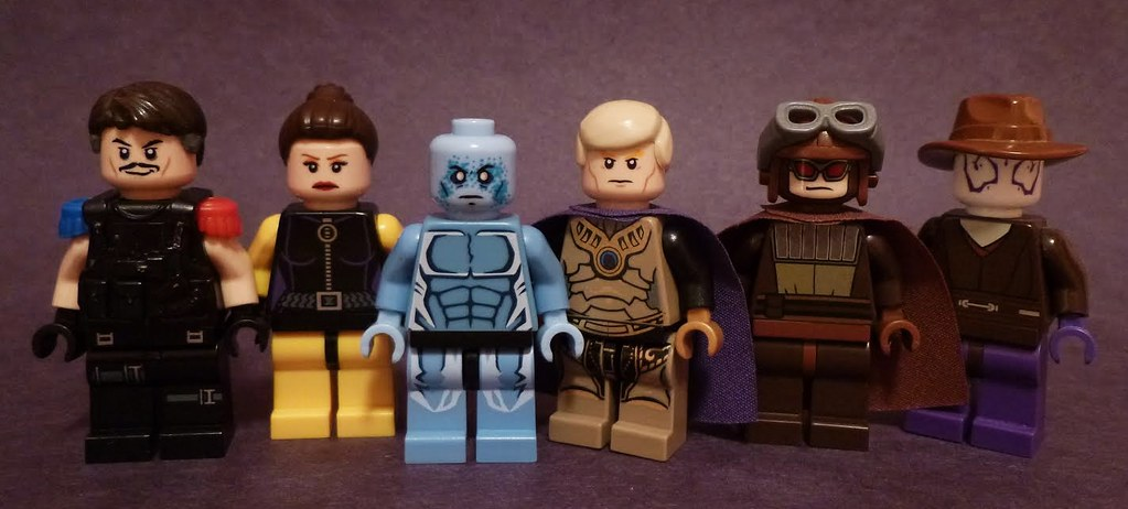 Lego Watchmen Updated Them Some Just Wanted To Show