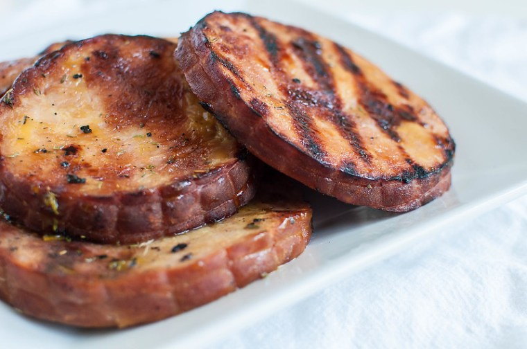 Grilled Honey Mustard Ham 4