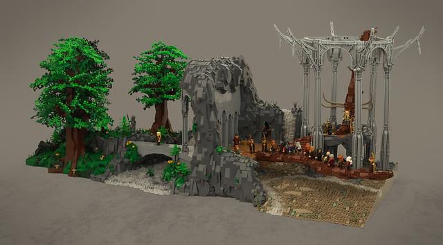 LEGO MOC The Hobbit Thandruil