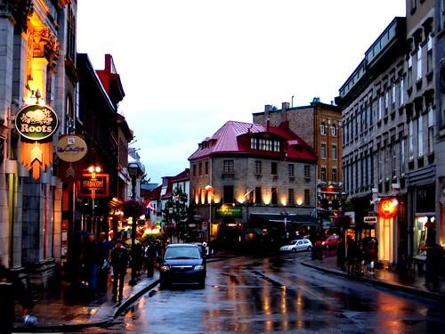 Rue Saint Jean This Is Rue Saint Jean In Downtown Quebec