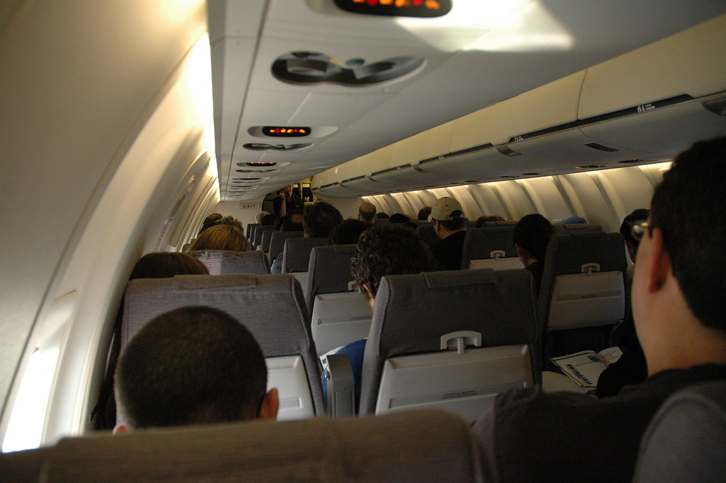 United Express CRJ200  Still as comfortable but with a
