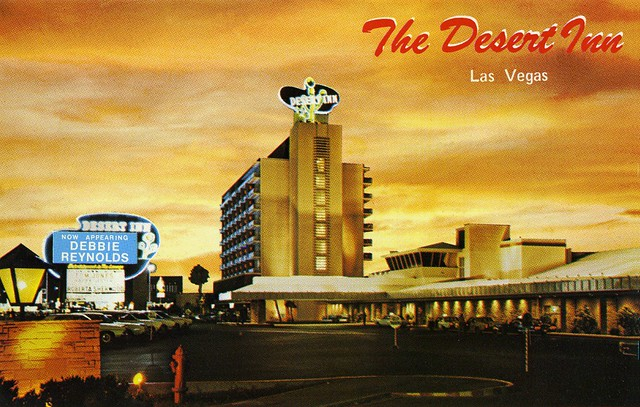Postcard  The Desert Inn 1967  Las Vegas  The Desert