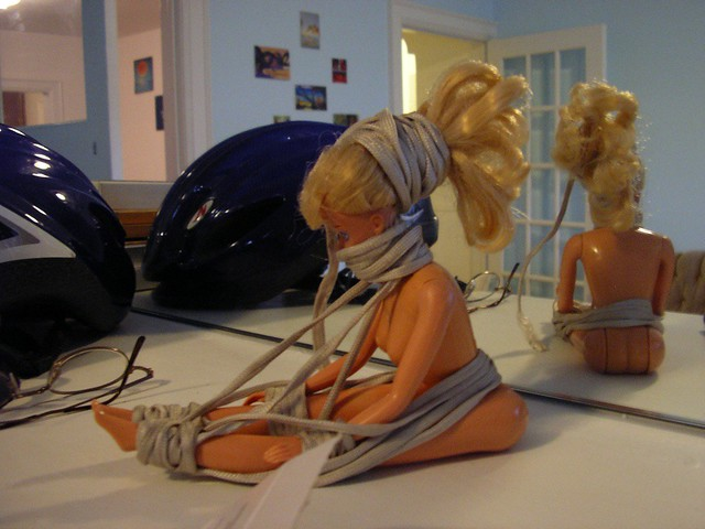 bondage barbie  Montreal to ChampaignUrbana and back