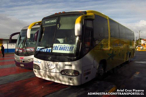Lista Azul - Los Ángeles - Irizar Century / Mercedes Benz (UT9478)