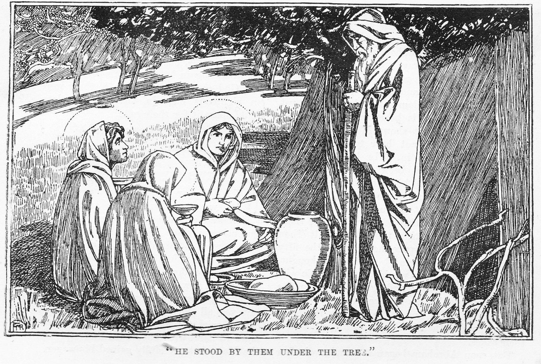 His Word In Pictures Vintage Bible Story Pictures