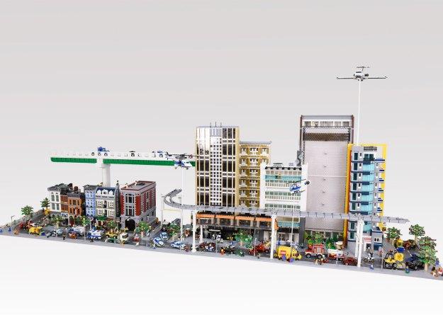 2017 Lego City Diorama 02