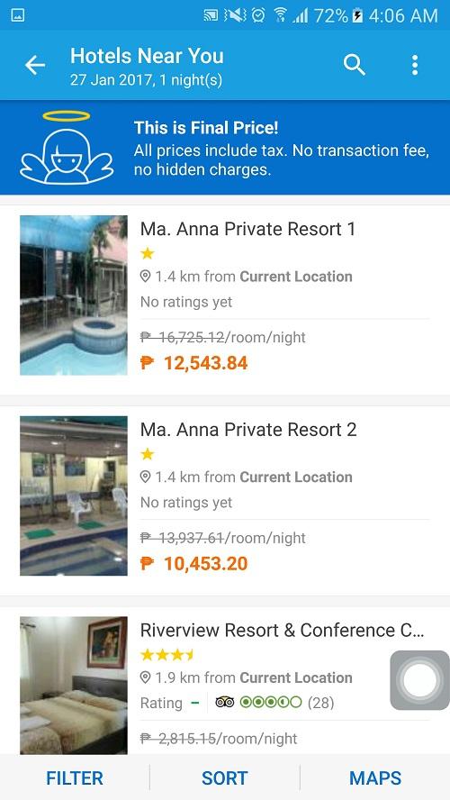 Quick Staycation W Seda Hotel Using Traveloka Apps