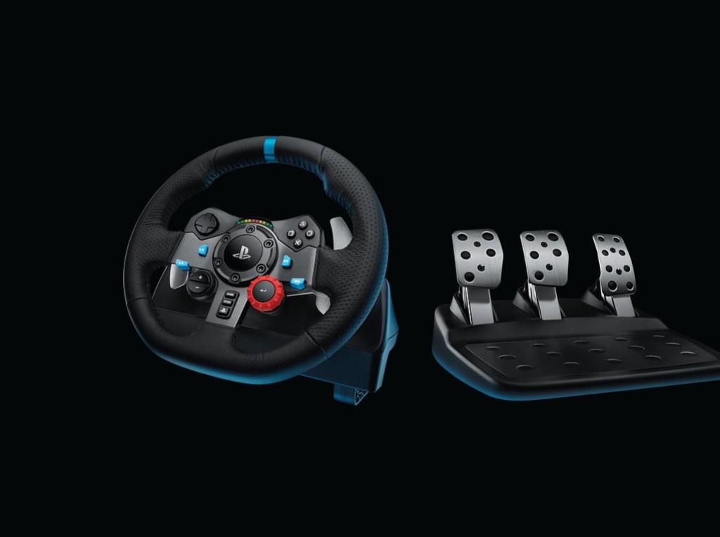 Logitech G29 Driving Force - Force feedback racestuur met pedalen