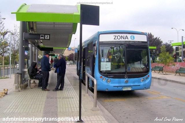 Transantiago E04 | Unitran | Metalpar Tronador - Mercedes Benz / WH2073