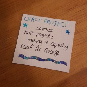 memory - starting a craft project