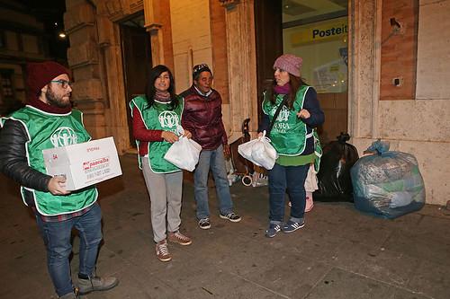 Adra Italia coordinamento Napoli assistenza ai senzatetto