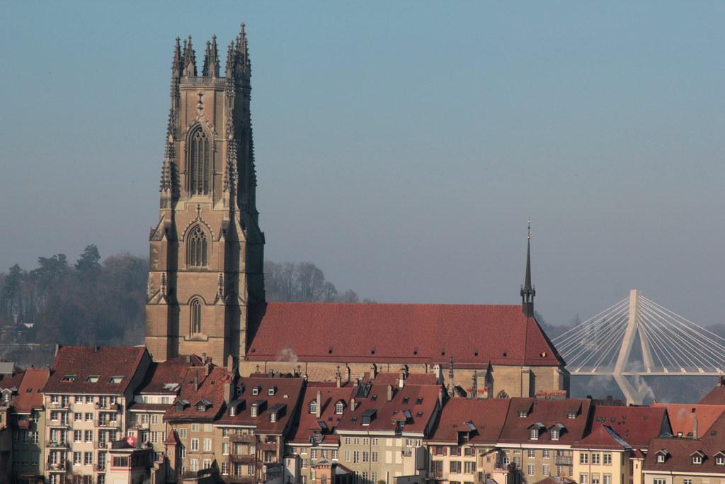 Kathedrale St Nikolaus Freiburg  Cathdrale Saint  Nico  Flickr
