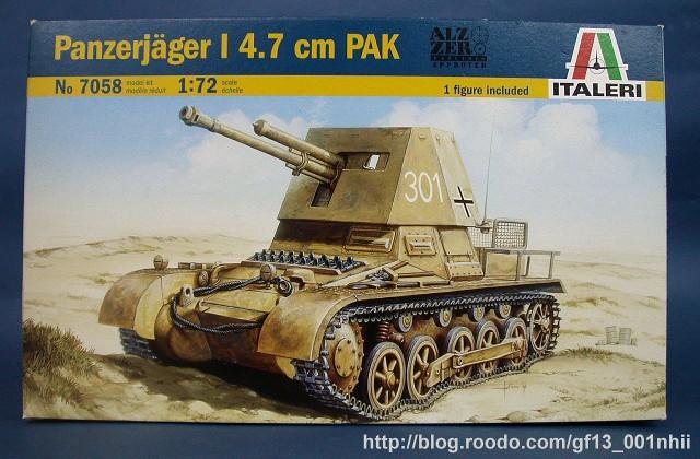 panzerjager_1-a01 | 【製作】Italeri 1/72 Panzerjager I 4.7cm PaK… | Flickr