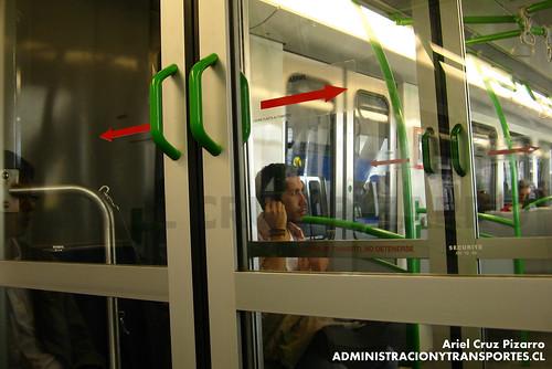 Metro Valparaíso - Puertas Alstom Xtrapolis 100 XT17
